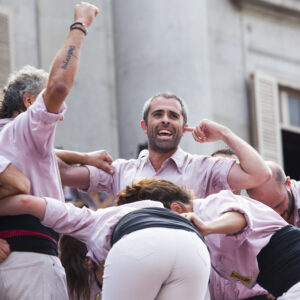 Castells during La Merce